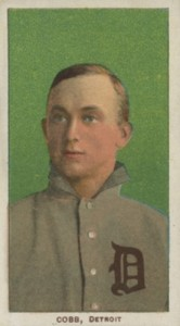 T206 Ty Cobb Green Portrait