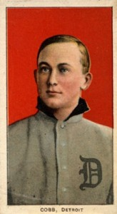 T206 Ty Cobb Red Portrait
