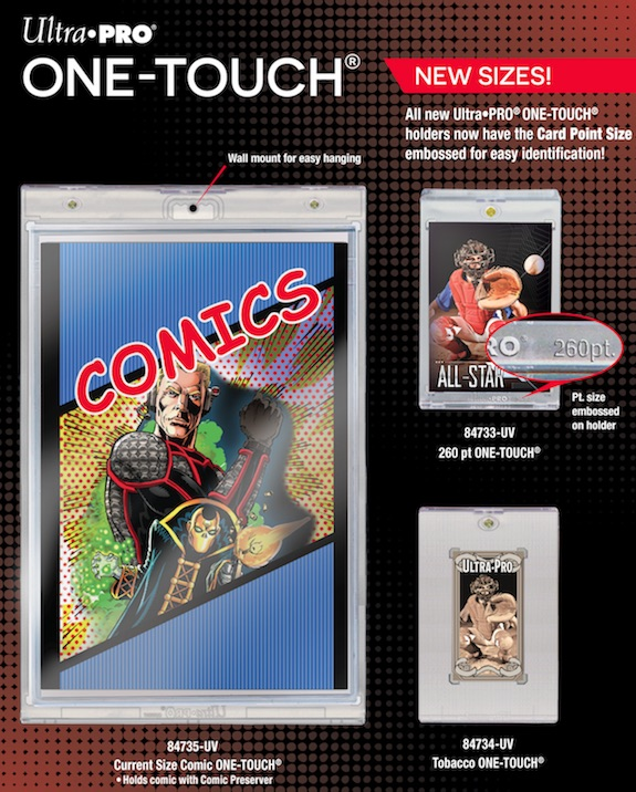 Ultra Pro One-Touch Magnetic Cases press