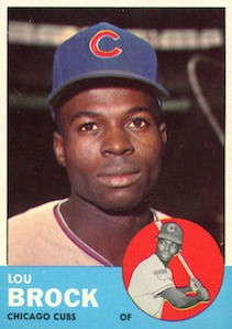 Top 10 Lou Brock Baseball Cards 6