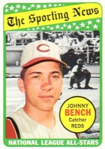 1969 Topps Johnny Bench #430