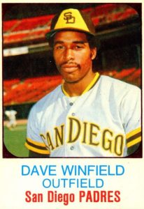 1975 Hostess All-Star Team Dave Winfield #37_Snapseed