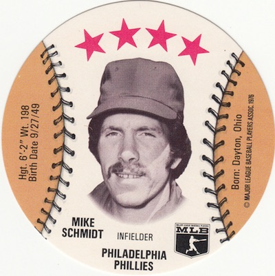 Top 10 Mike Schmidt Baseball Cards 1
