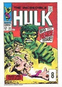 Hulk Trading Cards Guide and History 8