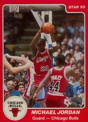 1984-85 Star Michael Jordan #101