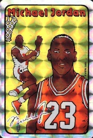 1985 Prism-Jewel Michael Jordan
