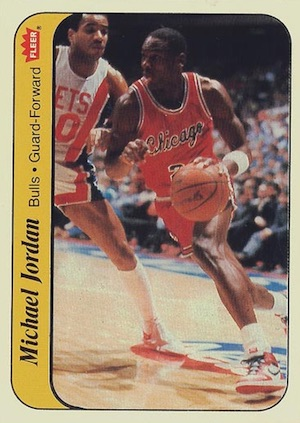 1986-87 Fleer Basketball Cards 7