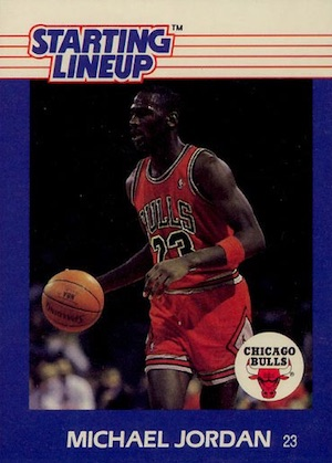 1988 Kenner Starting Lineup Michael Jordan
