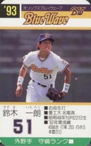 1993 Takara BlueWave Ichiro Suzuki #51 front