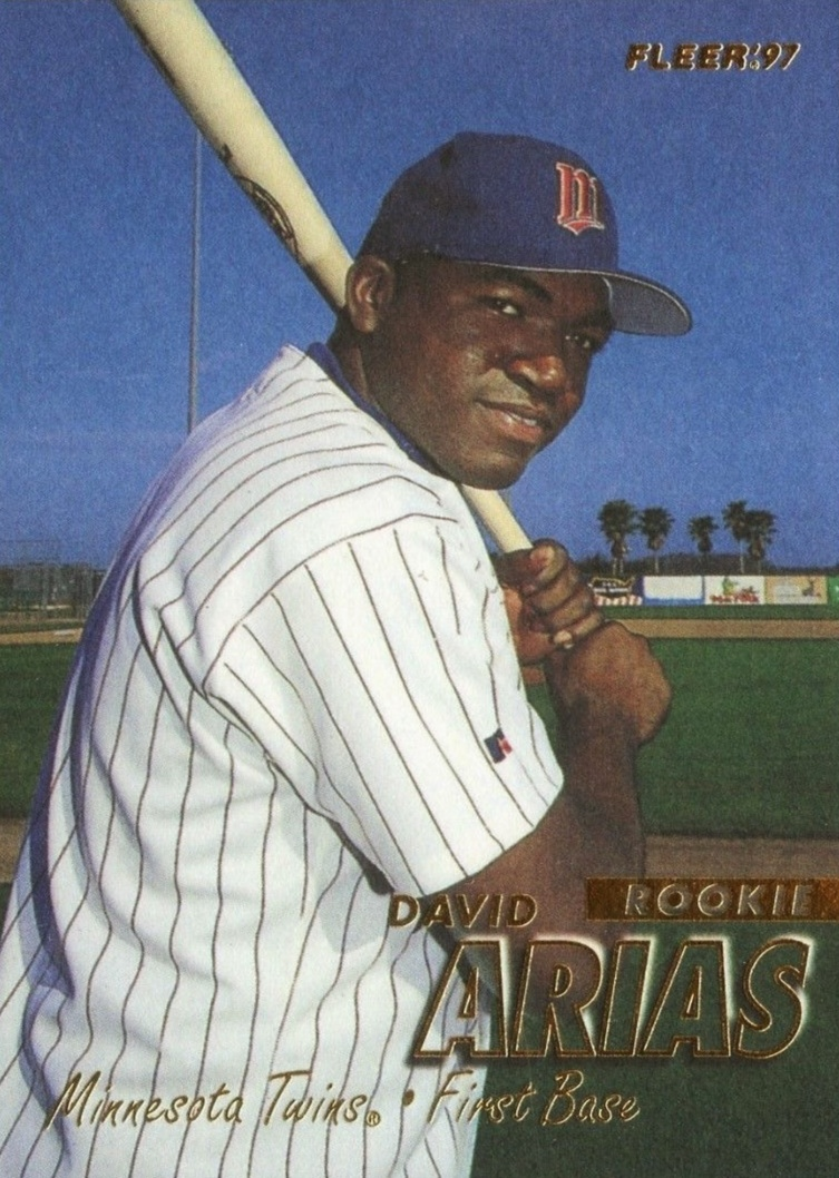 Big Papi! Top David Ortiz Rookie Cards and Other Early Cards 13
