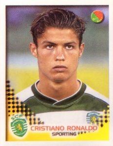 2002-03 Panini Stickers Cristiano Ronaldo #306