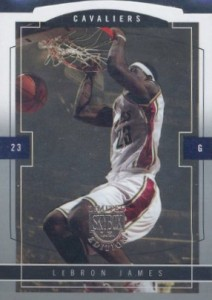 2003-04 SkyBox LE LeBron James rookie card RC