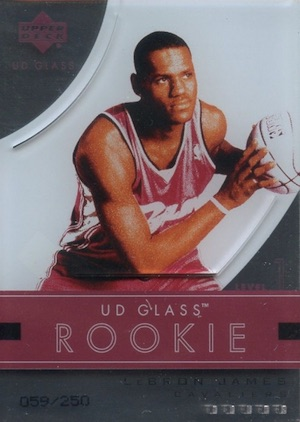 LBJ Heads to LA! Top LeBron James Rookie Cards of All-Time 5