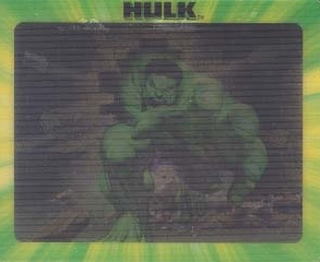 Hulk Trading Cards Guide and History 9