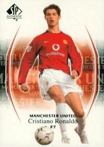 2004-05 SP Authentic Manchester United Base Cristiano Ronaldo #7