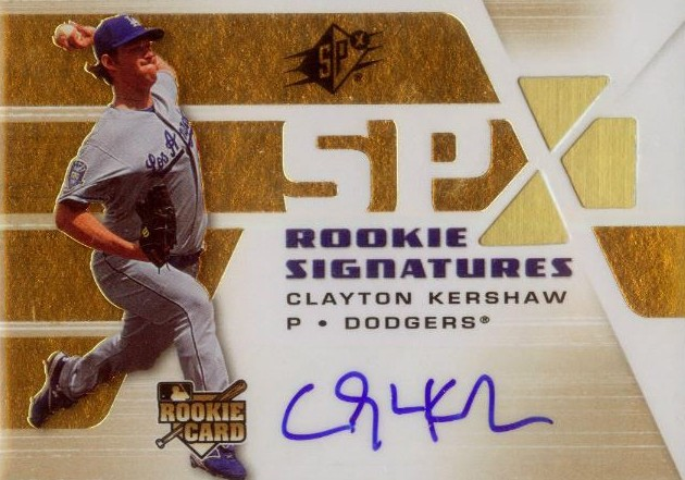 Top Clayton Kershaw Cards to Collect 10