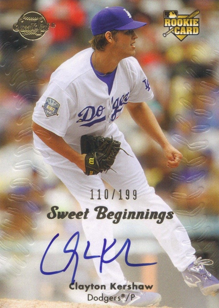 Clayton Kershaw Rookie Cards and Autograph Memorabilia Guide 2