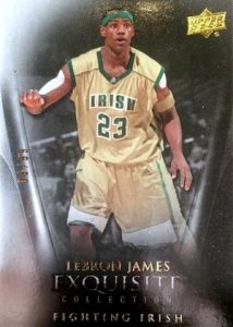 2011-12 Exquisite Collection Base LeBron James
