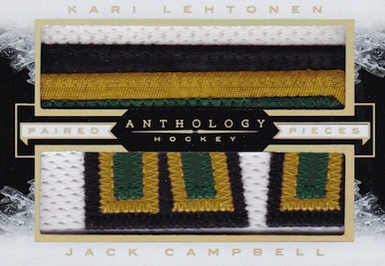 2015-16 Panini Anthology Hockey Paired Pieces