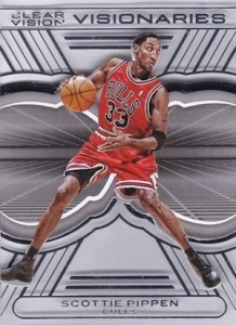 2015-16 Panini Clear Vision Basketball Visionaries Scottie Pippen