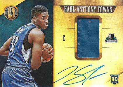 Karl-Anthony Towns Rookie Cards Checklist and Gallery 15