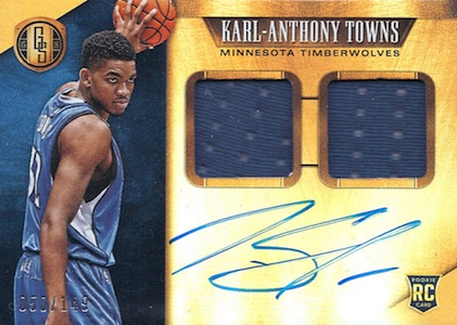 Karl-Anthony Towns Rookie Cards Checklist and Gallery 16