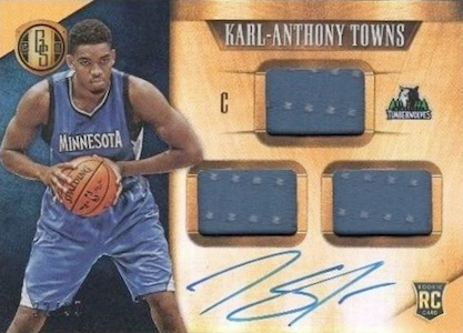 Karl-Anthony Towns Rookie Cards Checklist and Gallery 17