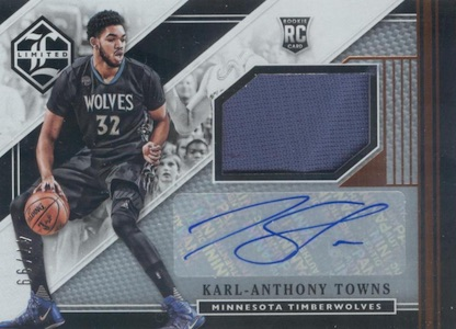 Karl-Anthony Towns Rookie Cards Checklist and Gallery 23