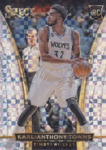 Karl-Anthony Towns Rookie Cards Checklist and Gallery 37