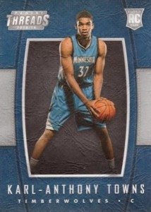 Karl-Anthony Towns Rookie Cards Checklist and Gallery 40
