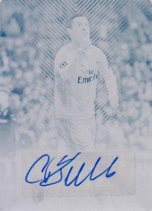 2015-16 Topps UEFA Champions League Showcase Autographs Cristiano Ronaldo Printing Plates