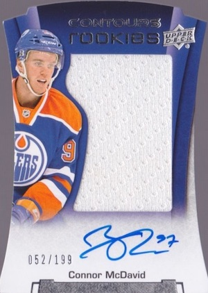 Connor McDavid Rookie Card Gallery and Checklist 21