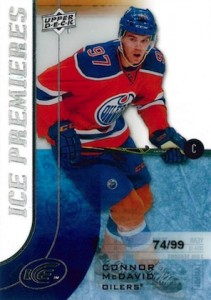 2015-6 Upper Deck Ice Hockey Connor McDavid RC #200