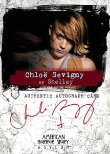 2016 Breygent American Horror Story Asylum Autographs Chloë Sevigny as Shelley