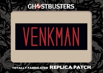2016 Cryptozoic Ghostbusters Replica Patch