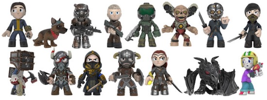 Action- & Spielfiguren New in stock Bethesda All Stars Mystery Minis Gamestop Exclus Mini-Figure Case