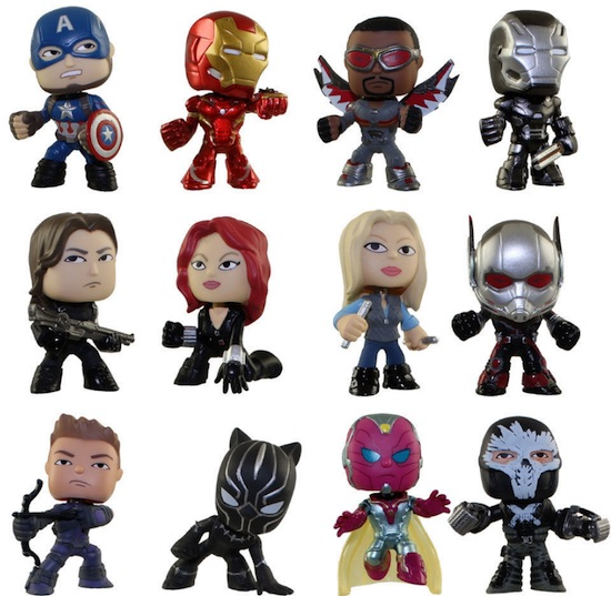 2016 Funko Captain America Civil War Mystery Minis 2