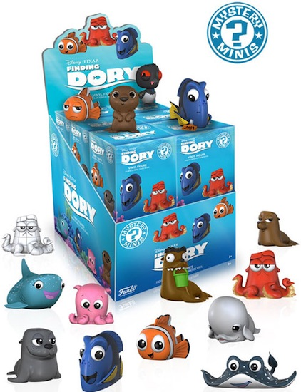 2016 Funko Finding Dory Mystery Minis box