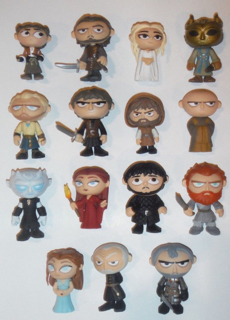2016 Funko Game of Thrones Mystery Minis Series 3