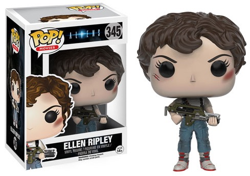 2016 Funko Pop Aliens Movie Vinyl Figures 345 Ellen Ripley