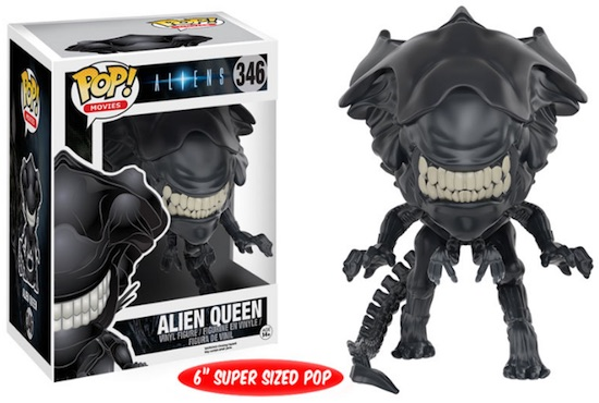 2016 Funko Pop Aliens Movie Vinyl Figures 346 Alien Queen 6 Super Sized Pop