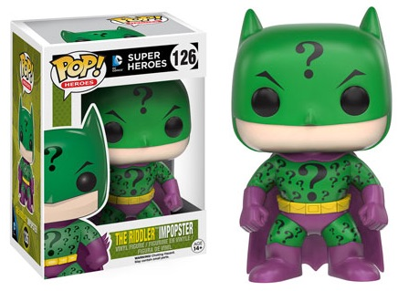 2016 Funko Pop Impopsters Vinyl Figures 126 The Riddler Impopster Batman