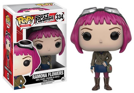 2016 Funko Pop Scott Pilgrim Vinyl Figures 334 Ramona Flowers