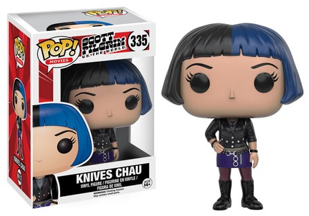 2016 Funko Pop Scott Pilgrim Vinyl Figures 335 Knives Chau
