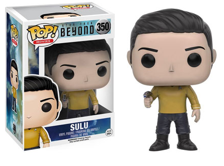 2016 Funko Pop Star Trek Beyond 350 Sulu
