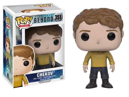 2016 Funko Pop Star Trek Beyond 351 Chekov