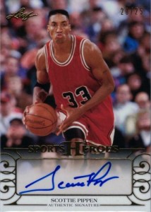 2016 Leaf Sports Heroes Scottie Pippen