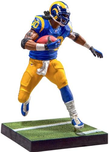 2016 McFarlane Madden NFL 17 Ultimate Team Figures Todd Gurley