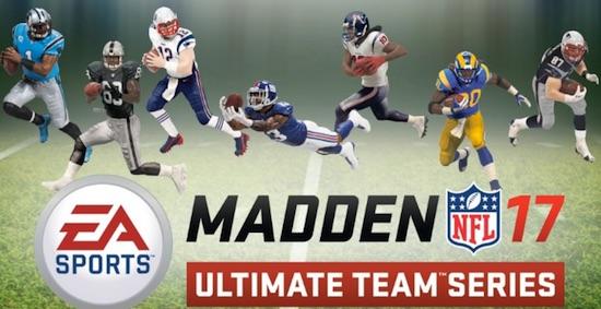2016 McFarlane Madden NFL 17 Ultimate Team Figures main