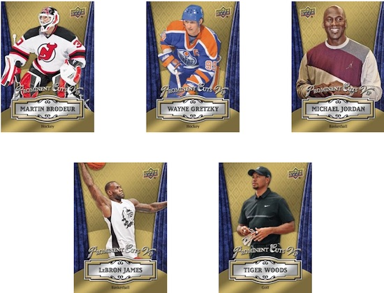 2016 National Sports Collectors Convention Exclusive Upper Deck VIP set